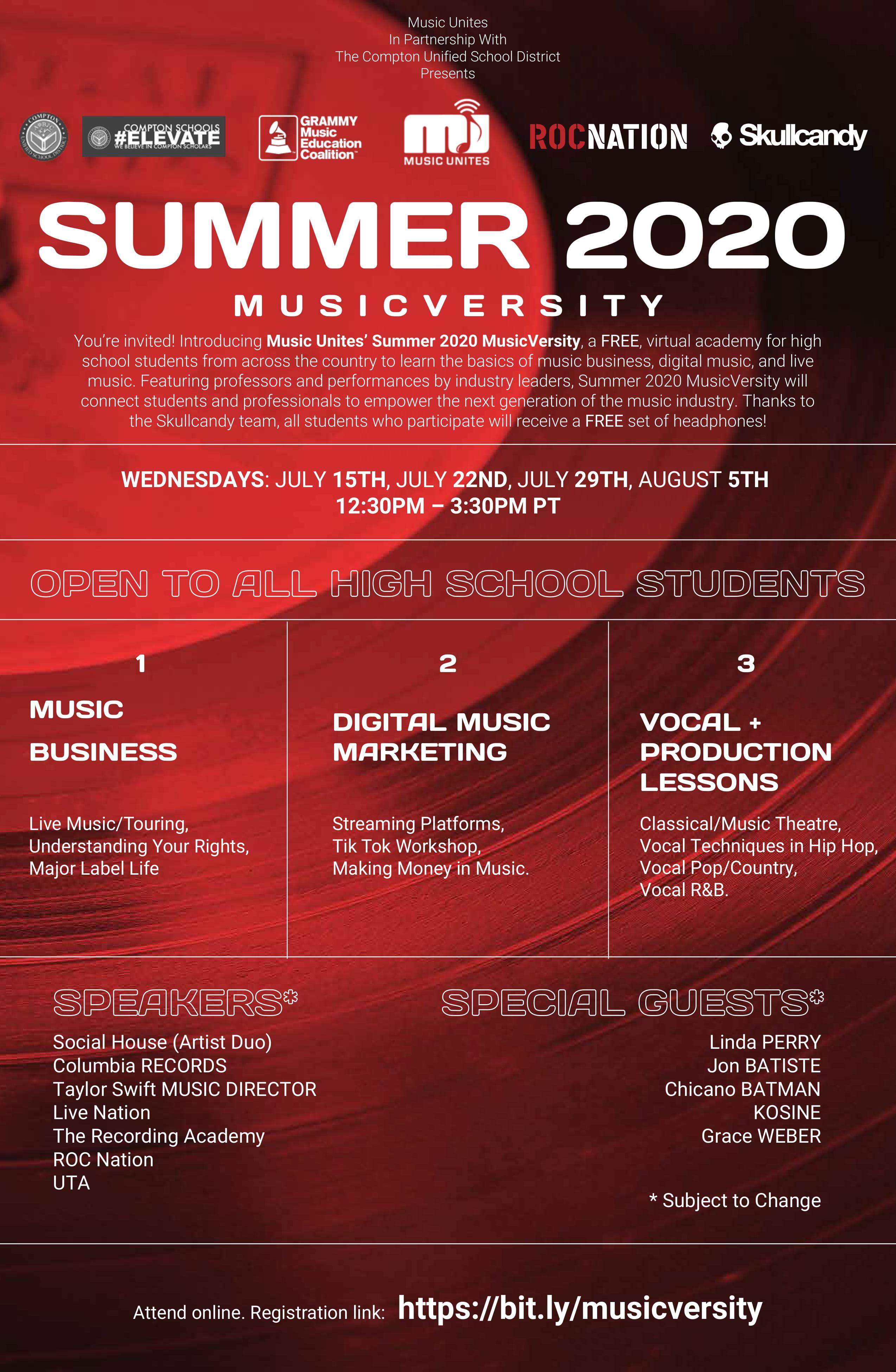 Music Unites Summer 2020 MusicVerstiy-1